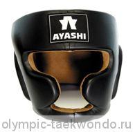 Шлем для бокса чёрный